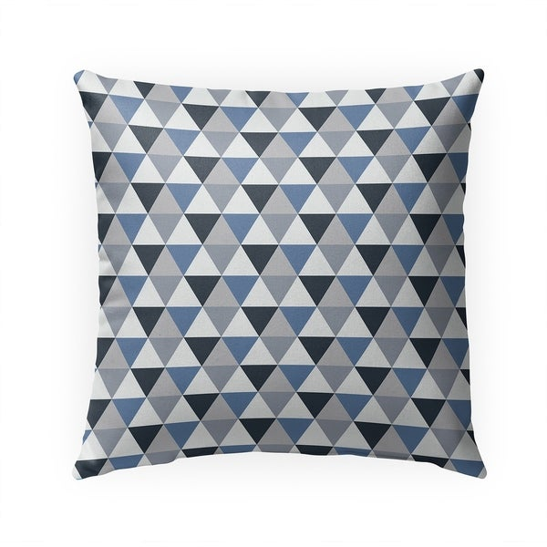 PRISM BLUE Indoor|Outdoor Pillow By Becky Bailey - 18X18