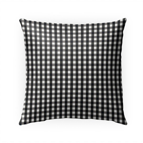 SMALL PLAID BLACK AND WHITE Indoor