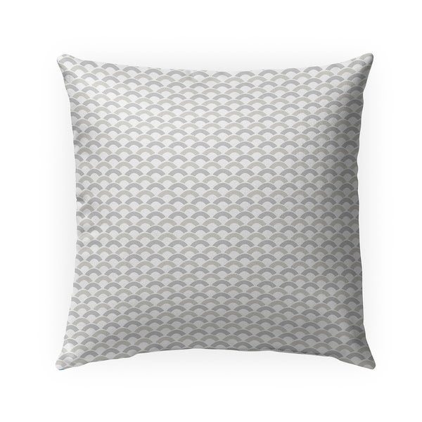 LUCILLE GREIGE Indoor|Outdoor Pillow By Becky Bailey - 18X18