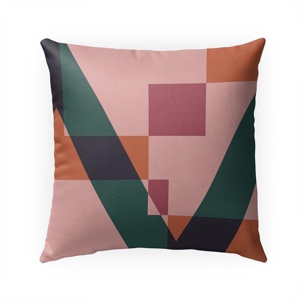 GEOMETRY NERD Indoor|Outdoor Pillow By Becky Bailey - 18X18