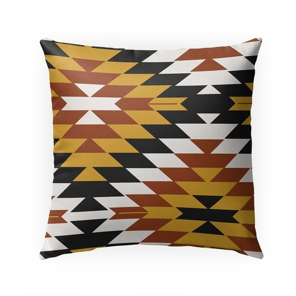 SAN PEDRO SIENNA Indoor|Outdoor Pillow By Becky Bailey - 18X18