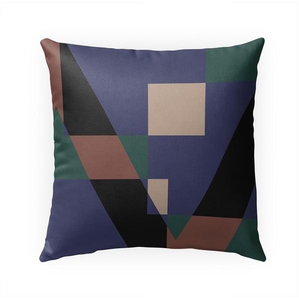 GEOMETRY TEACHER Indoor|Outdoor Pillow By Becky Bailey - 18X18