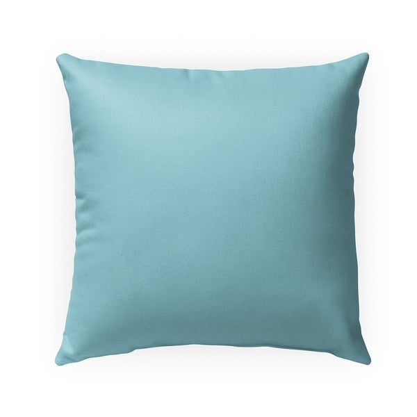 BABY BLUE Indoor|Outdoor Pillow By Kavka Designs - 18X18