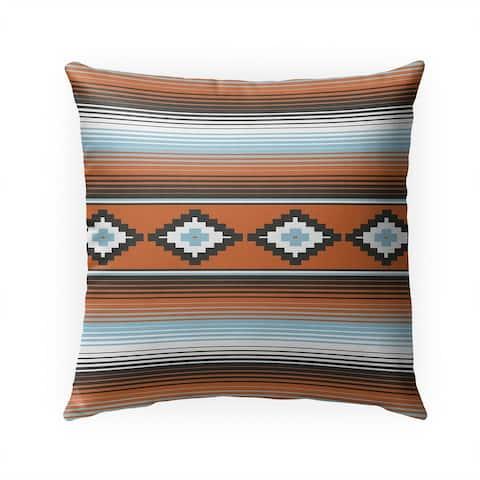 MODERN SERAPE MULTI Indoor Outdoor Pillow by Kavka Designs - 18X18
