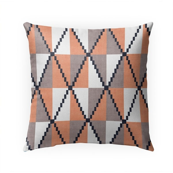 CANE ORANGE Indoor|Outdoor Pillow By Becky Bailey - 18X18