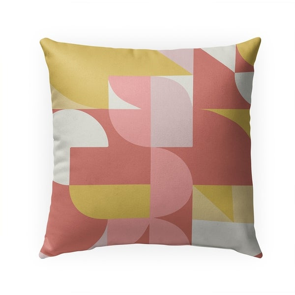 MIAMI WARM Indoor|Outdoor Pillow By Becca Garrison - 18X18