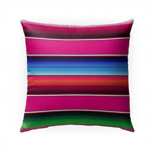 SALTILLO MAGENTA Indoor Outdoor Pillow by Kavka Designs - 18X18