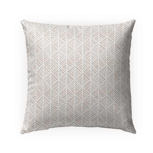 ABSTRACT LEAF Indoor|Outdoor Pillow By Becky Bailey - N/A - 18X18
