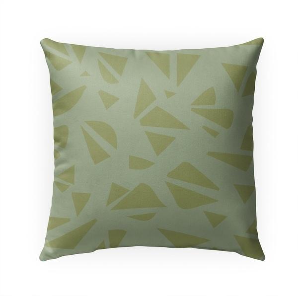 GREENPIECE Indoor|Outdoor Pillow By Becca Garrison - 18X18