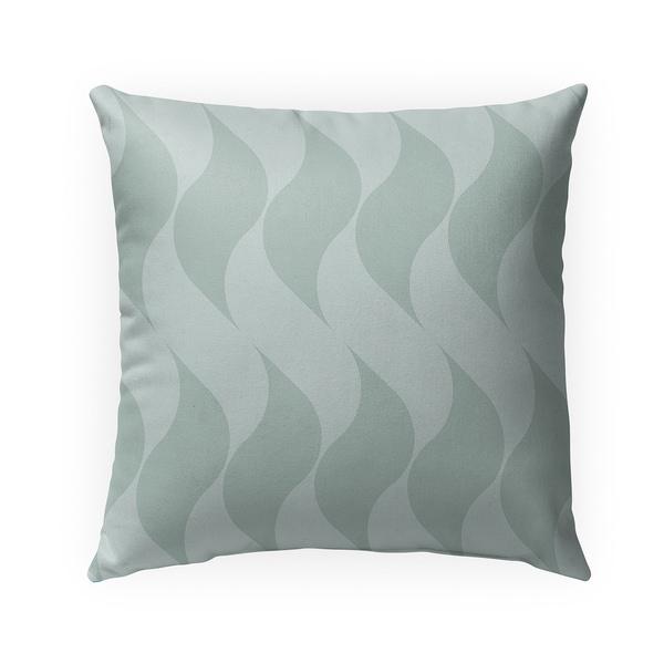 SWISH MINT Indoor Outdoor Pillow By BG Riley - 18X18