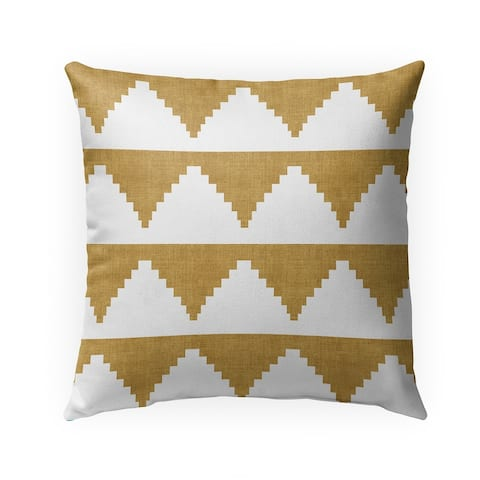 LASH YELLOW Indoor Outdoor Pillow by Kavka Designs - 18X18