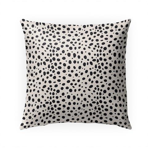 CHEETAH BLACK SPOT Indoor Outdoor Pillow by Kavka Designs - 18X18