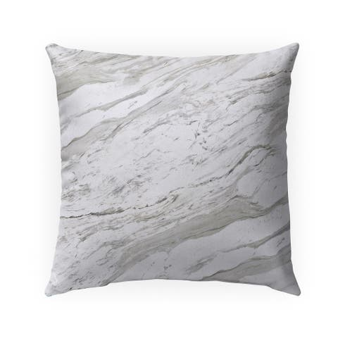MARBLE Indoor Outdoor Pillow by Kavka Designs - 18X18