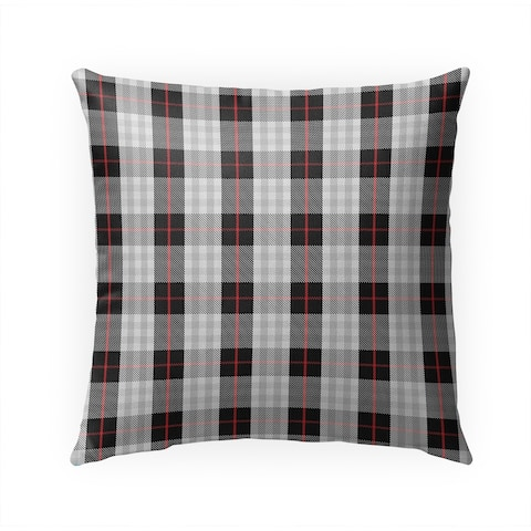 MAD PLAID TWO Indoor Outdoor Pillow by Kavka Designs - 18X18