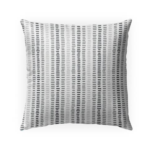 STONE GREY Indoor Outdoor Pillow by Kavka Designs - 18X18