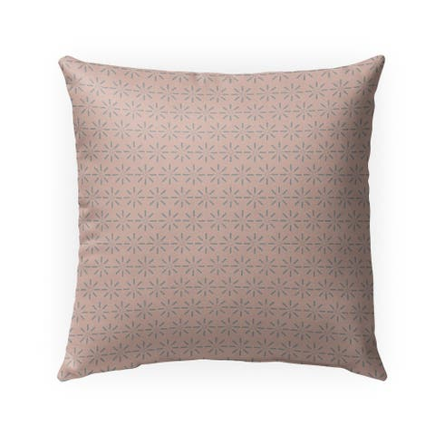 VINTAGE BLUSH Indoor Outdoor Pillow by Kavka Designs - 18X18