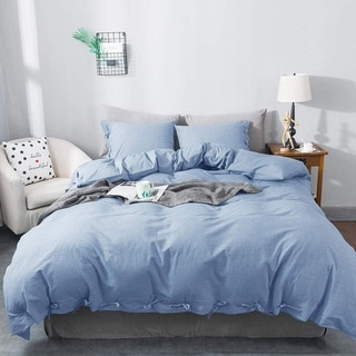 Link to KASENTEX 3-Piece, 100-percent Cotton Duvet Cover and Pillow Sham(s) Similar Items in Duvet Covers & Sets