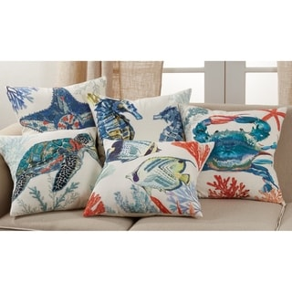 Link to Throw Pillow with Crab Design Similar Items in Decorative Accessories