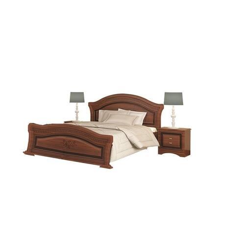 VERA Platform Bed with mattress 62.9 x 78.7 inch