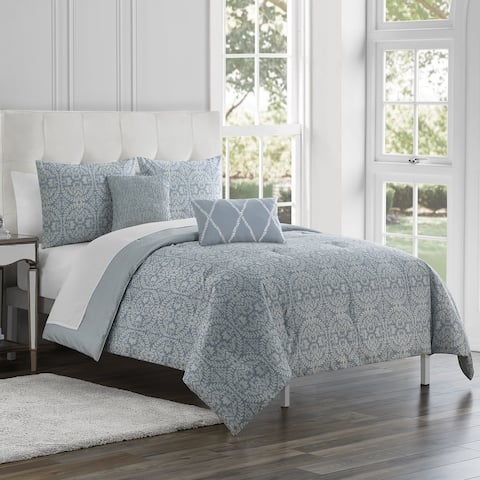 Marquis by Waterford Rouen 5 PC Comforter Set