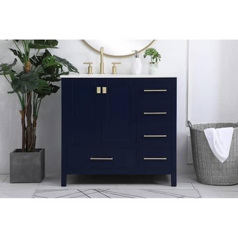 Buy Blue, 36 Inch Bathroom Vanities & Vanity Cabinets ...