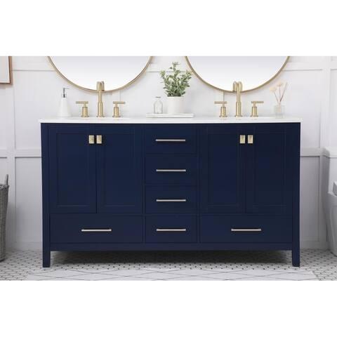 60-Inch Double Bathroom Vanity