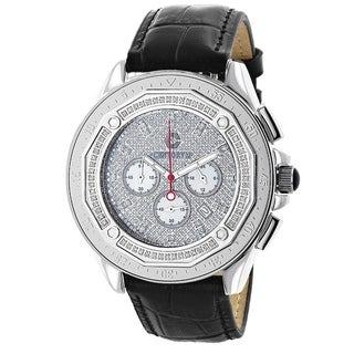 Centorum Men's Chronograph 3/5ct TDW Diamond Watch