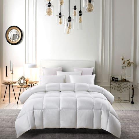Serta 300 Thread Count White Down Fiber Comforter