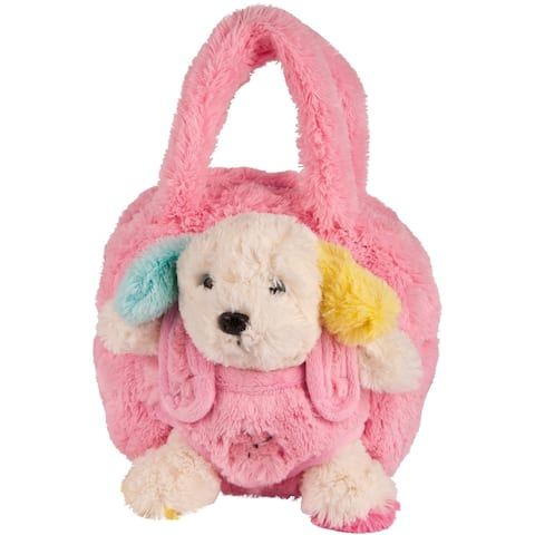 Kids Plush Backpack with Removable Plush Toy