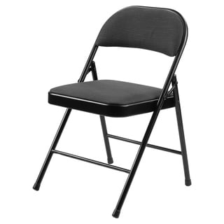Link to Commercialine® 900 Series Fabric Padded Folding Chair, Star Trail Black (Pack of 4) Similar Items in Home Office Furniture