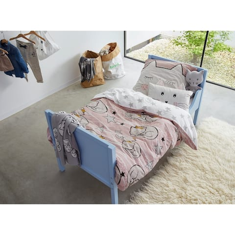Covers & Co 144TC Cotton Pink Twin Bee You Duvet Cover