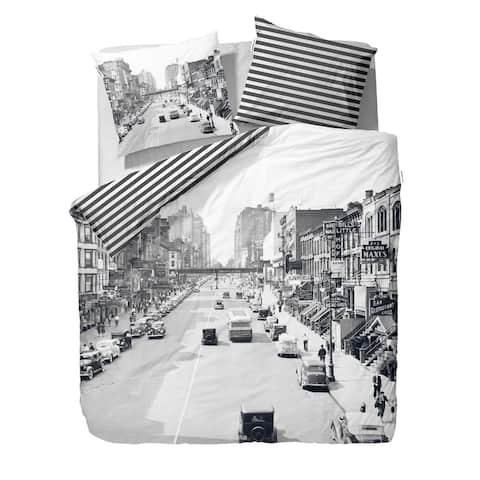 Covers & Co 144TC Cotton Multi Twin Street Duvet Cover Set/2pcs