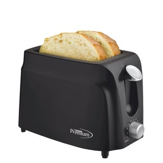 2 Slice Toaster Black