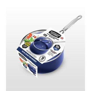 Link to Granitestone Blue Non Stick 2.5 Qt Sauce Pot w Lid, PFOA Free Similar Items in Cookware