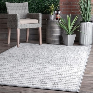 nuLOOM Sundaze Raised Striped Indoor/Outdoor Area Rug