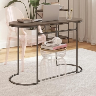 Link to CosmoLiving by Cosmopolitan Vivinne Writing Desk Similar Items in Desks & Computer Tables