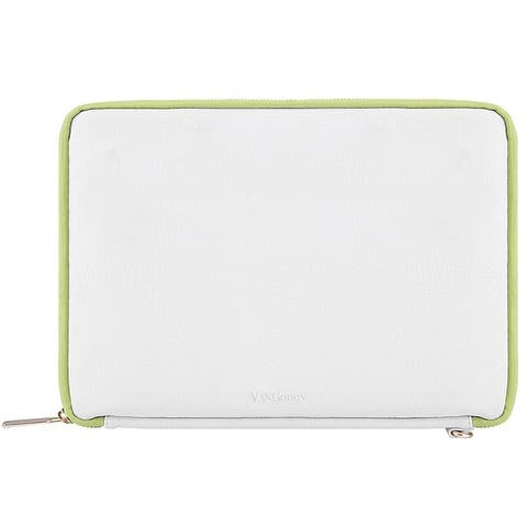 8.5 inch Universal Zippered Tablet Sleeve with Back Pocket - 9 X 7 INCH