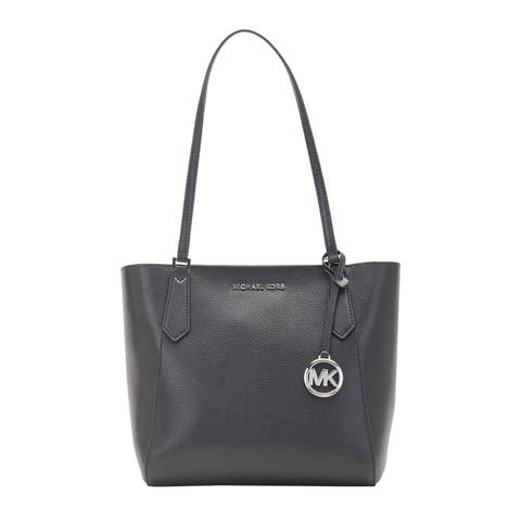 Michael kors Womens Kimberly Small Bonded Tote Black