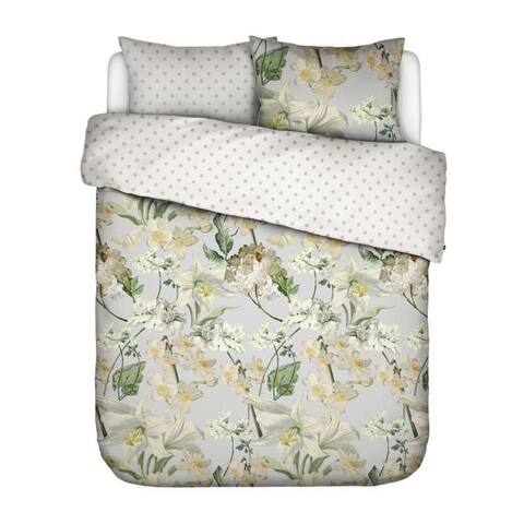 Essenza Rosalee Combed Cotton 3 Piece Duvet Cover Set