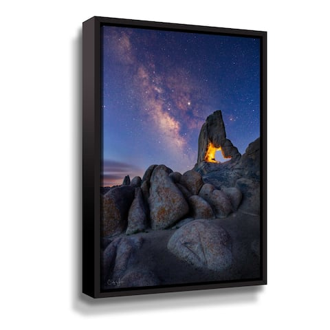 Boot Arch Alabama Hills Gallery Wrapped Floater-framed Canvas