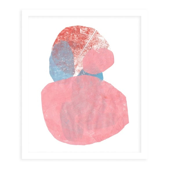 HIDE AND SEEK White Framed Giclee Print By Becky Bailey