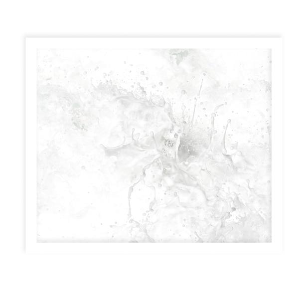 RANDOM CHAIN White Framed Giclee Print By Tal Paz Fridman