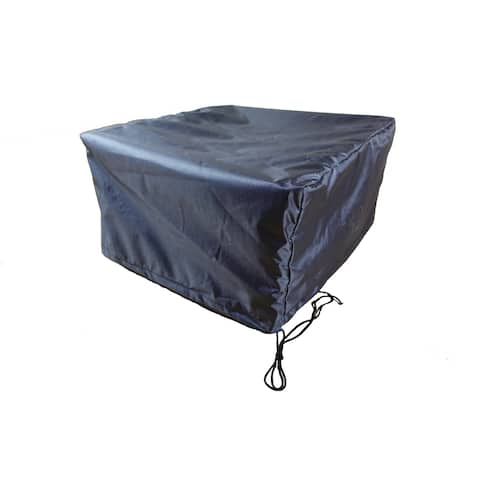 """Fire Table Square 44"""" Cover - Shield Gold"""