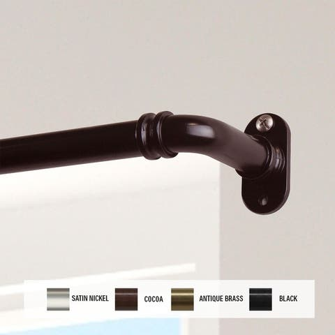 InStyleDesign 5/8 inch Blackout Curtain Rod