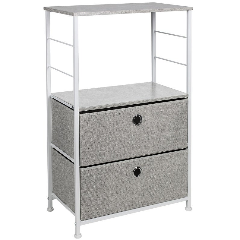 Sorbus Nightstand with 3 Drawers Bedside Furniture /& Accent End Table...