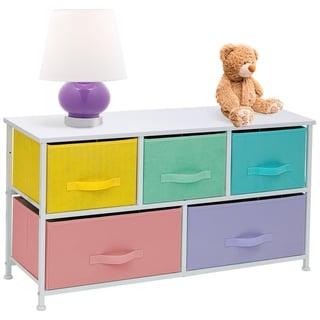 Storage Cube Dresser - Pastel