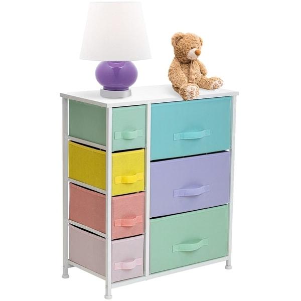 6 Drawers Chest Dresser - Pastel