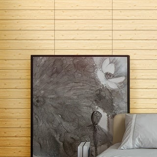Wood Grain Pattern Wall Sticker, Perfect For Wall Decal (2Pack)