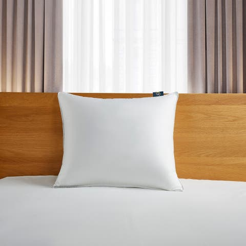 Serta 300 Thread Count White Down Fiber Pillow