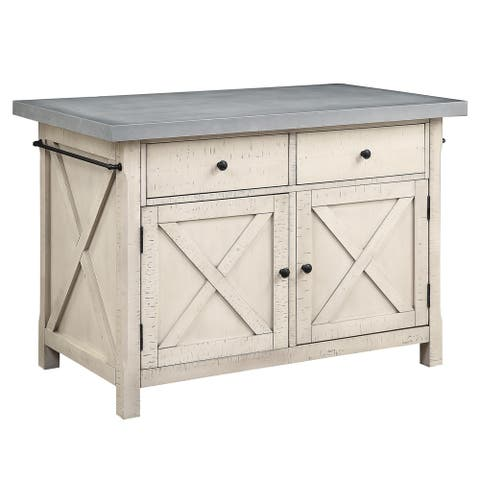 The Gray Barn River Stour Kitchen Island